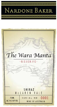 The Wara Manta Reserve Label